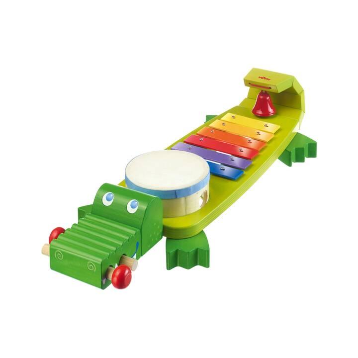 HABA Musizieren Klang-Kroko (Mehrfarbig)