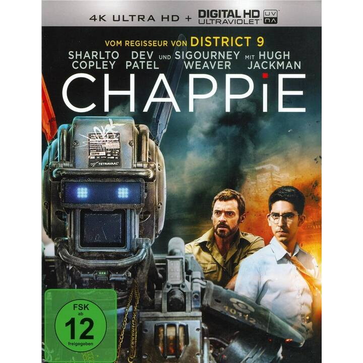 Chappie (4K Ultra HD, ES, IT, PT, JA, DE, EN, FR)