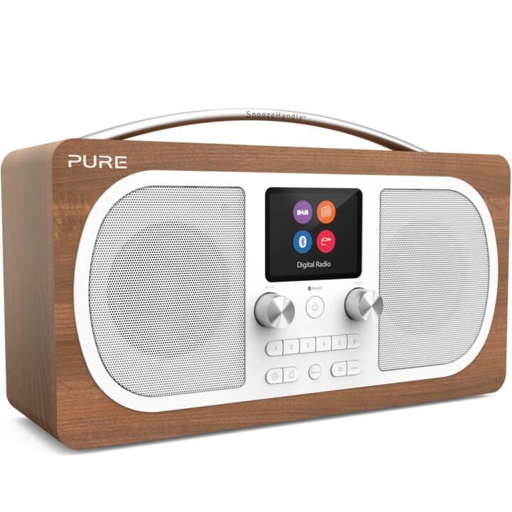 PURE Evoke H6 Radios numériques (Brun)