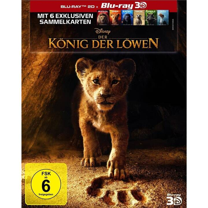 Der König der Löwen (ES, DE, EN, FR)