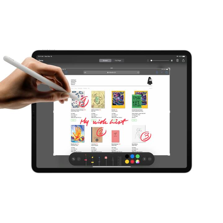 "APPLE iPad Pro 2020 WiFi (12.9"", 512 GB, Argent)"