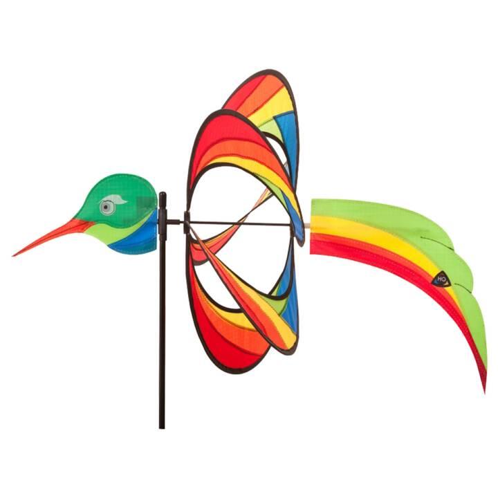 INVENTO-HQ Ruota a vento Hummingbird (Multicolore, 42 cm x 100 cm)