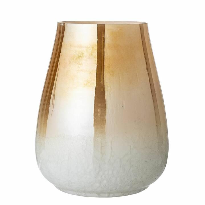 BLOOMINGVILLE Vaso Multi-Color (250 mm, Oro, Bianco)