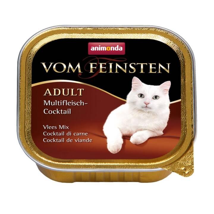 ANIMONDA Vom Feinsten (Adulte, 100 g, Lapin, Poule, Agneau, Bœuf, Dindon)