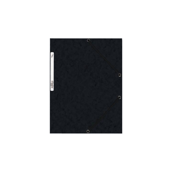 Cartella elastica BÜROLINE A4 nero