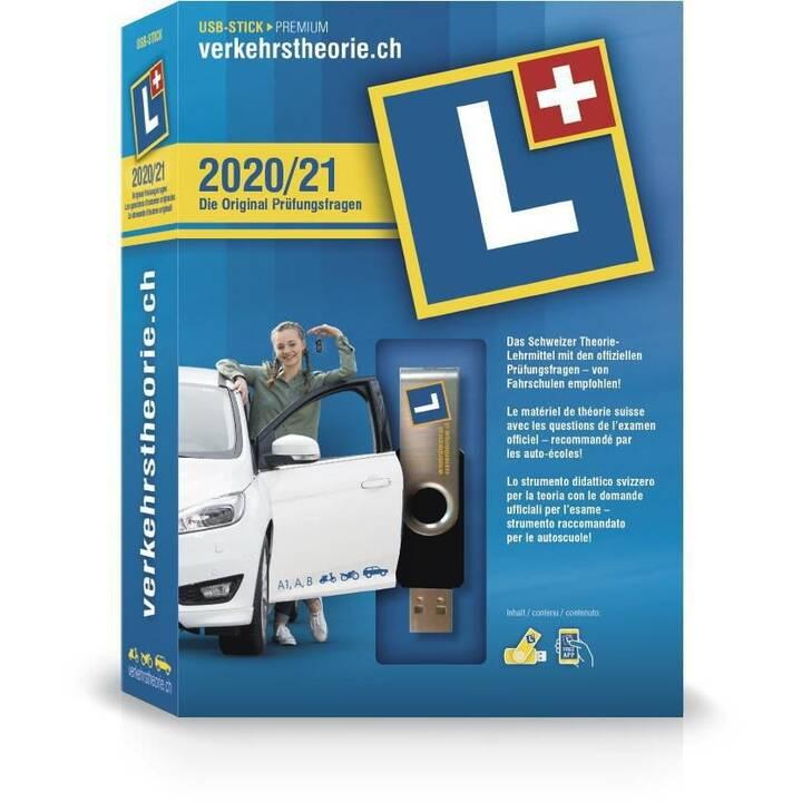 VERKEHRSTHEORIE.CH Kat. A+B USB-Stick (Version complète, Allemand, Français, Italien)