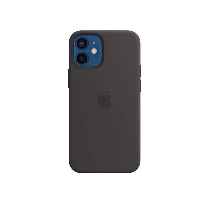 APPLE Backcover MagSafe (iPhone 12 Mini, Schwarz)