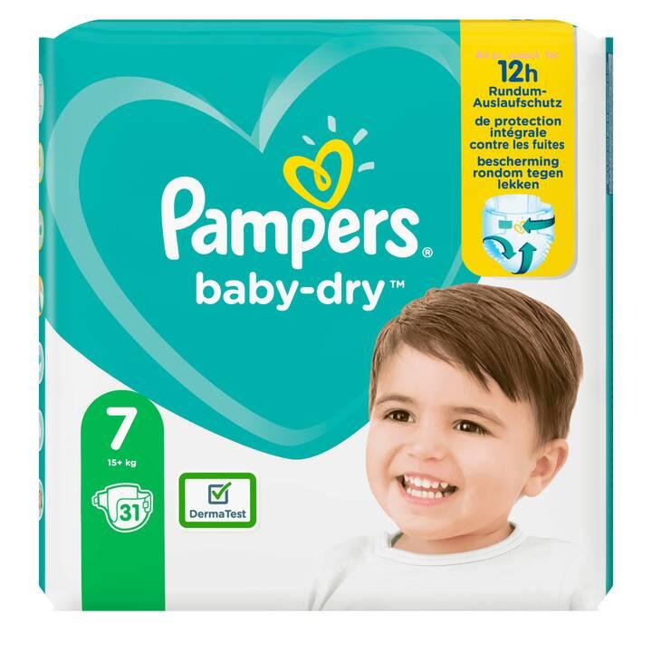 PAMPERS Pannolini usa e getta Baby-Dry 7 (31 pezzo)