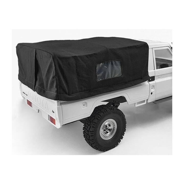 RC4WD arceau de sécurité caisse arrière avec capote noire, LC70