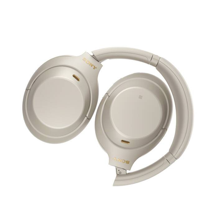 SONY WH-1000XM4B (Over-Ear, Argento)