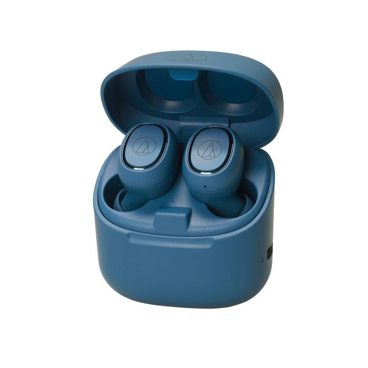 AUDIO-TECHNICA ATH-CK3TW (Earbud, Bluetooth 5.0, Bleu)