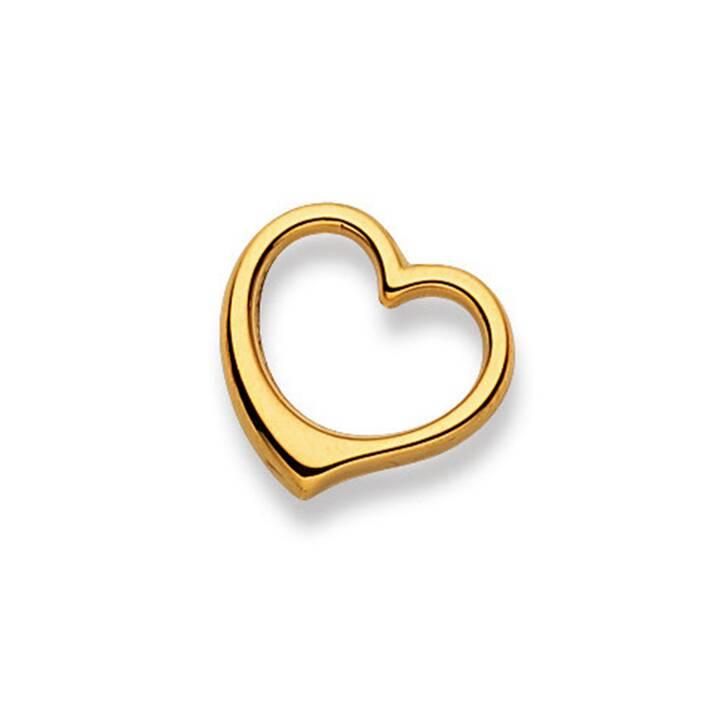 MUAU Swinging heart Pendentif pour le cou (1.7 cm)