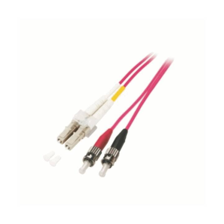 MHE Netzwerkkabel (LC Multi-Mode, ST multi-mode, 2 m)