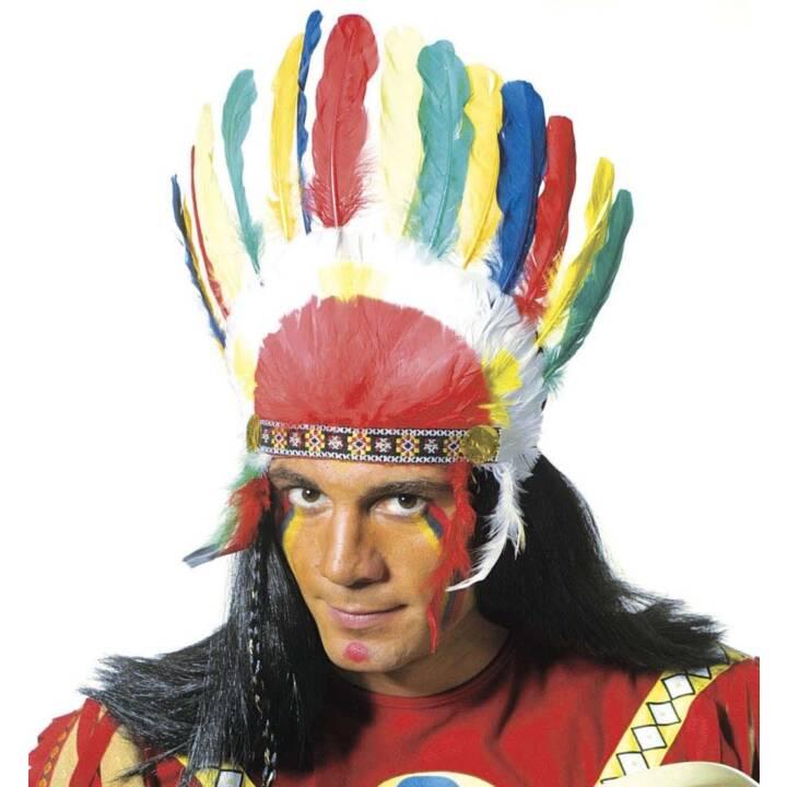 WIDMANN Indianer Kopfschmuck, one size Accessoires de déguisement