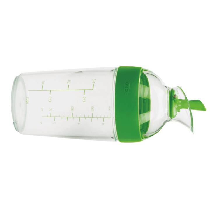OXO Saladdressing Shaker piccolo 240ml, verde