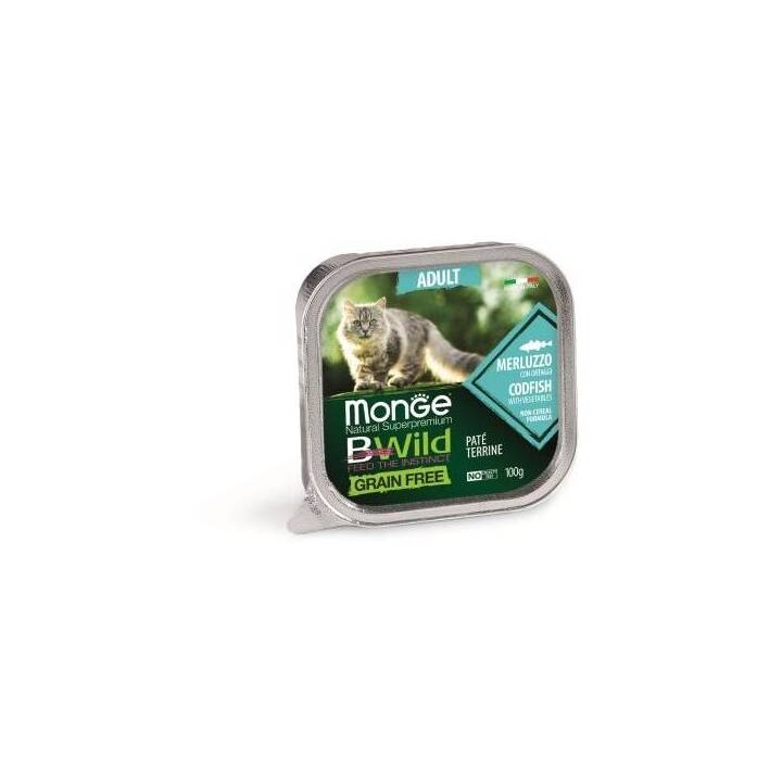MONGE Alimentation humide (Adulte, 100 g, Poisson)