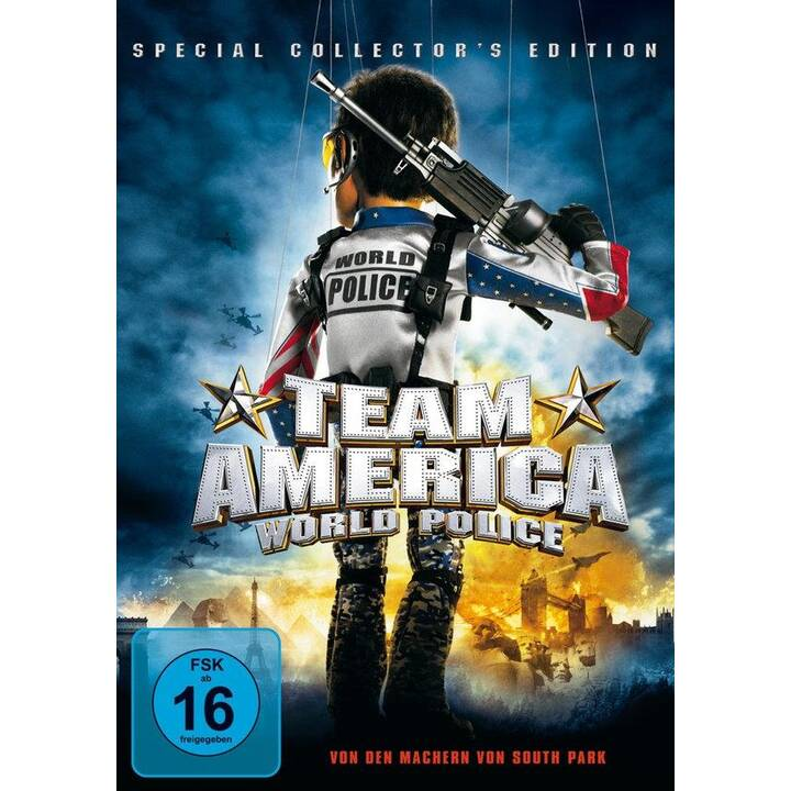 Team America - World Police (DE, EN, TR)
