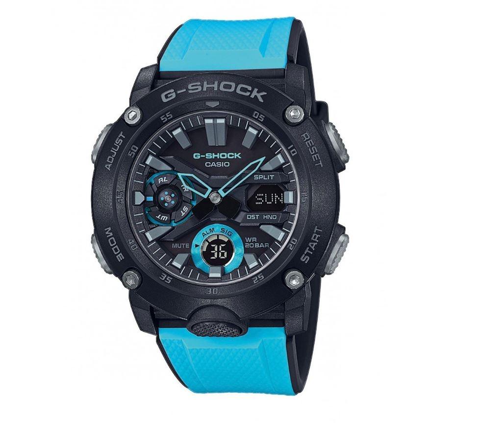 G-SHOCK GA-2000-1A2ER  (49 mm, Analog- & Digitaluhr, Quarz)