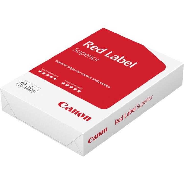 CANON Red Label 500 Carta per copia (A4, 500 foglio)