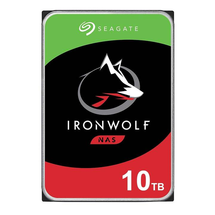 Seagate IronWolf ST10000VN0008 - disque dur - 10 To - SATA 6Gb/s