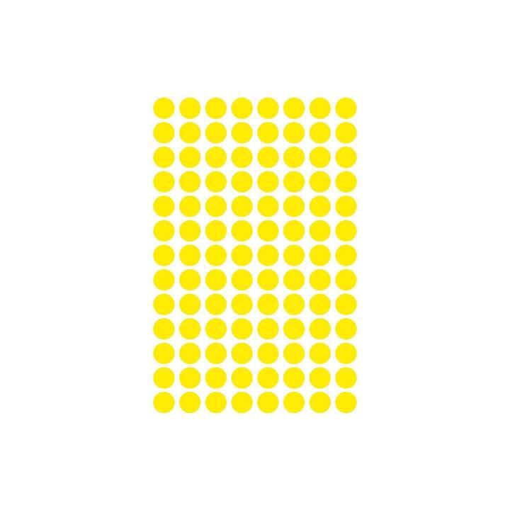 AVERY ZWECKFORM Etiketten (8 x 8 mm, 4 Blatt)