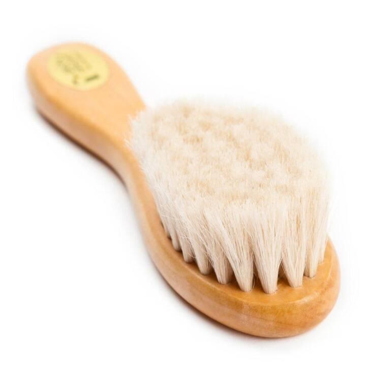 GRÜNSPECHT Haarbürste (Naturborsten)