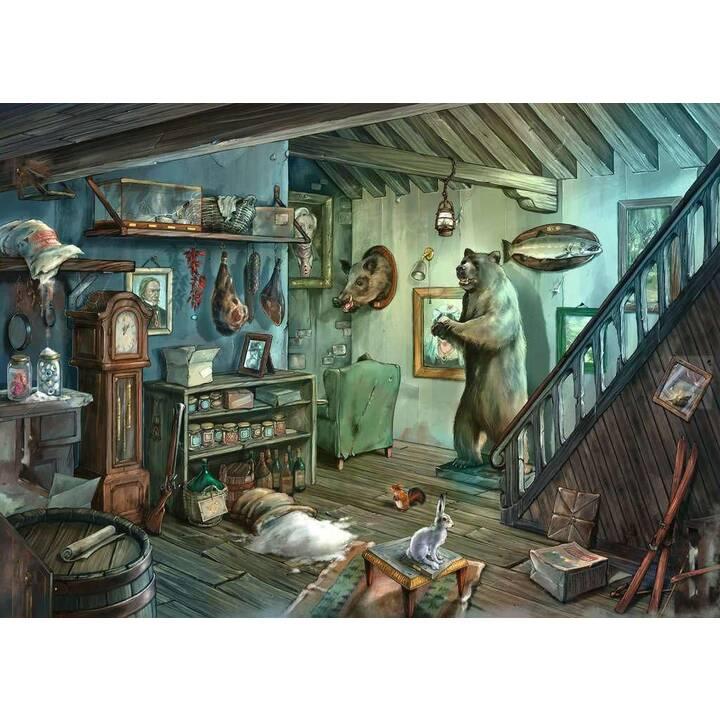 RAVENSBURGER Escape 8 Im Gruselkeller (759 pièce, Puzzle 2D)