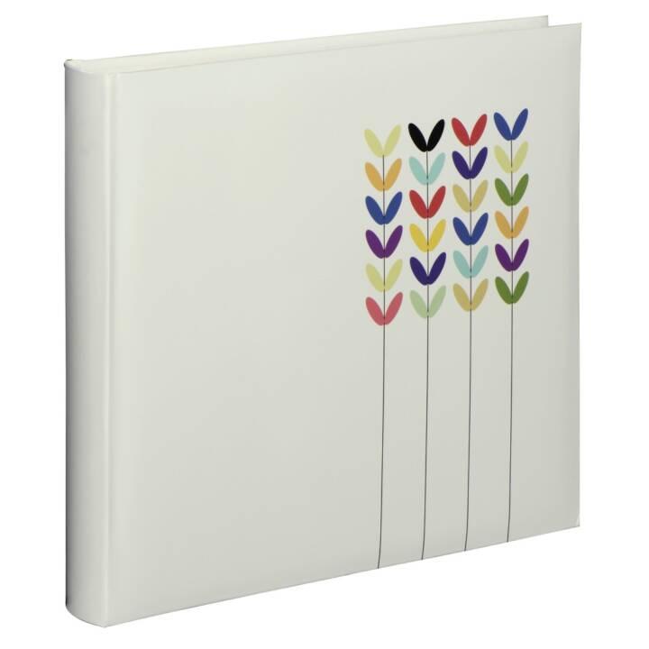 """HAMA Jumbo album """"Blossom"""", 30x30 cm, 80 pagine bianche, bianco"""