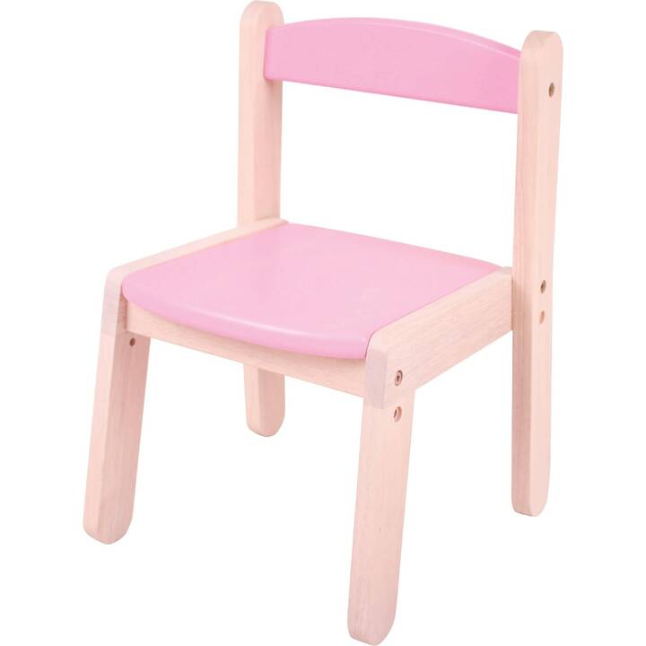 SPIELBA Sedia per bambini (Rosa)