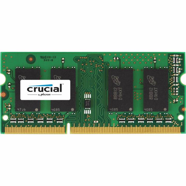 CRUCIAL CT10242464BF186D, 8 GB, DDR3, DONC DIMM 204-PIN