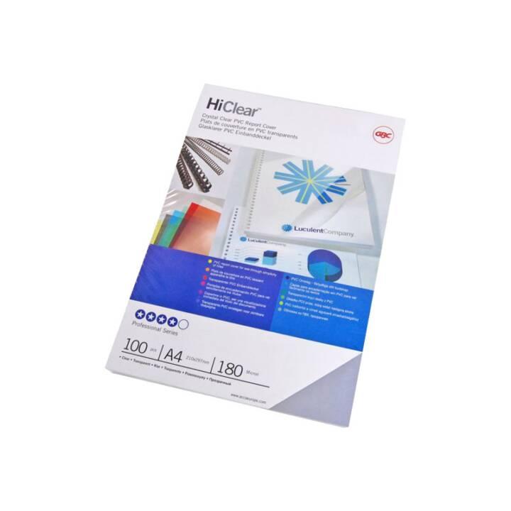 GBC Cover HiClear, 200my Cover, trasparente