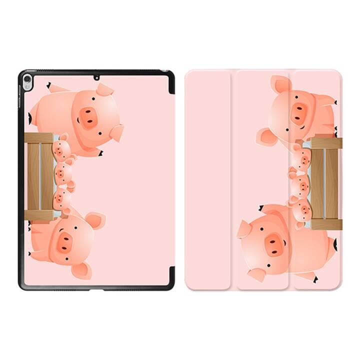 """EG iPad Sleeve pour Apple iPad Pro 10.5"""" 10.5"""" 10.5"""" - pink cartoon pigs"""
