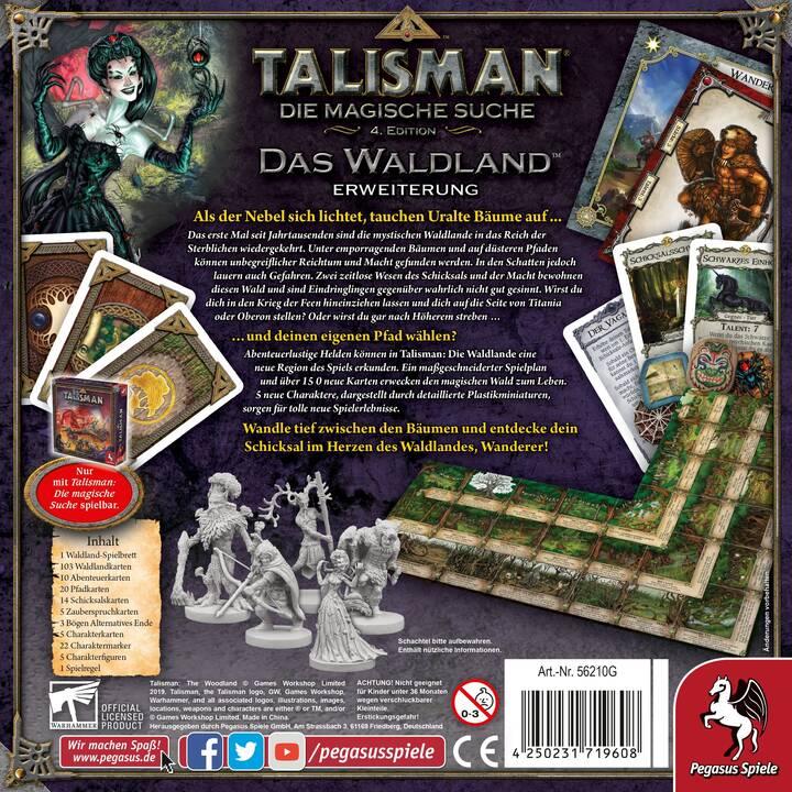 PEGASUS SPIELE Talisman - Das Waldlande, Erweiterung Gioco di strategia