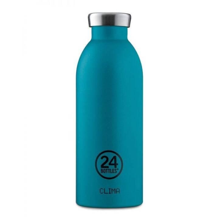 24BOTTLES Bottiglia sottovuoto Clima Atlantic Bay (0.5 l, Blu)