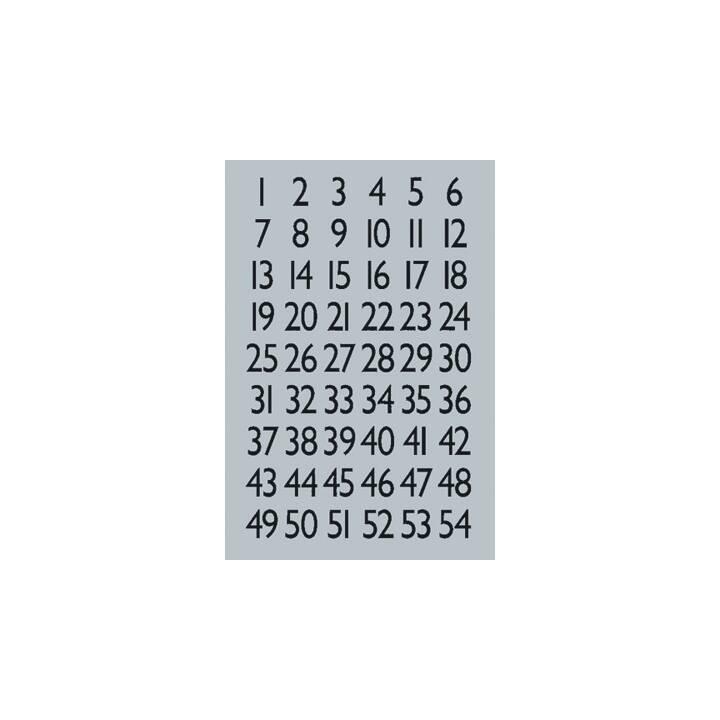 HERMA 1-100 Etiketten (84 x 120 mm, 13×12mm, 4 Blatt)