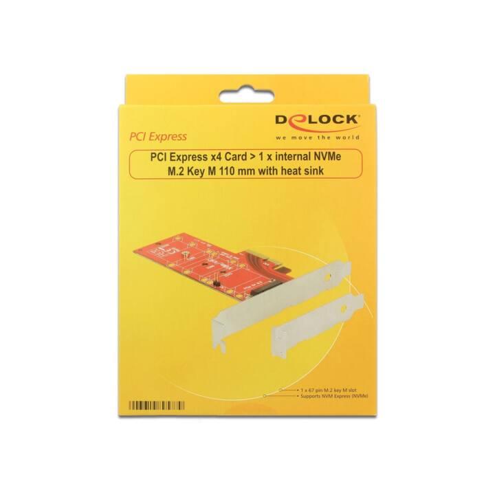 DELOCK HBA PCIe internal NVMe M.2 Key M