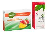 Бады для профилактики и облегчения боли в горле
