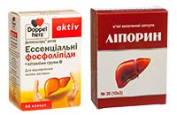Бади для підтримки функцій печінки та жовчного міхура