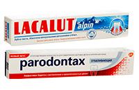 Зубні пасти та гелі