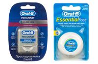 Зубні нитки та інші аксесуари для зубів