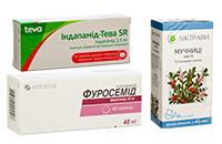 Сечогінні препарати (діуретики)