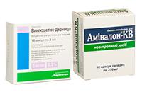 Препарати для поліпшення мозкового кровообігу