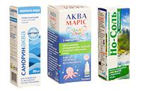 Засоби для профілактики та лікування носа