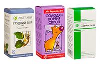 Препараты при влажном кашле