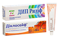 Місцеві препарати від болю в м'язах і суглобах
