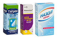 Препараты от насморка