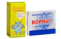 Препараты против глистов (гельминты)