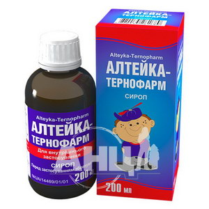 Алтейка-Тернофарм сироп флакон 200 мл