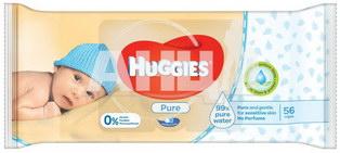 Вологі серветки Huggies pure №56