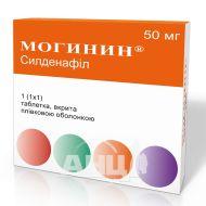 Могинин таблетки покрытые пленочной оболочкой 50 мг блистер №1